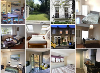 Examples of rooms to rent on Cohabitas over 40s house share site