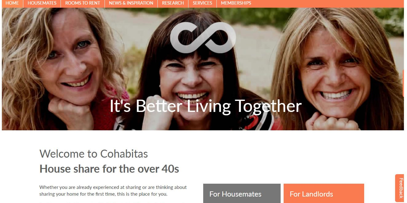 How is Cohabitas different to Spareroom?